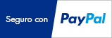Pago seguro a través de PayPal