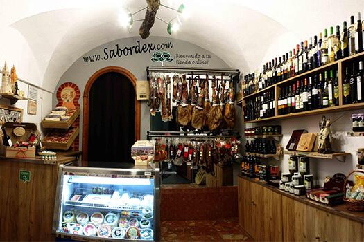 La tienda de Jerez de los Caballeros