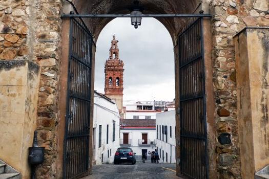 Entrada al Castillo Alcazaba Jerez de los Caballeros