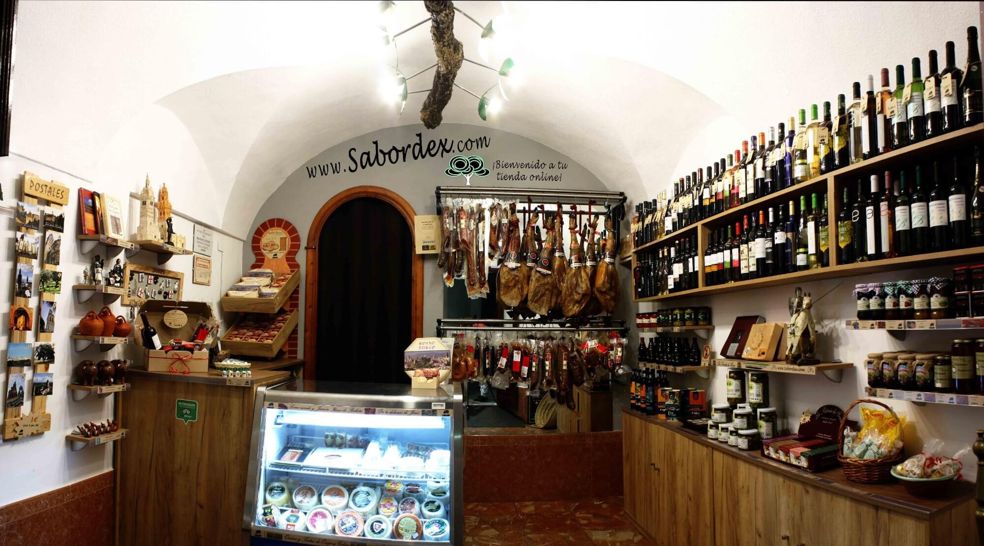 La tienda de Jerez, Jerez de los Caballeros